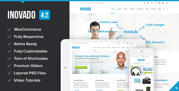 25+ BEST Corporate WordPress Themes 2014 | WP AWARDS