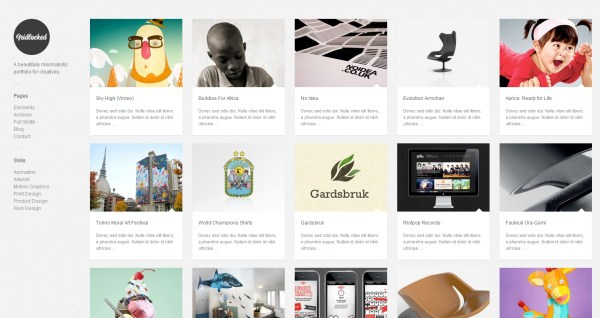 Minimal WordPress Themes of 2014   20+ Best Templates