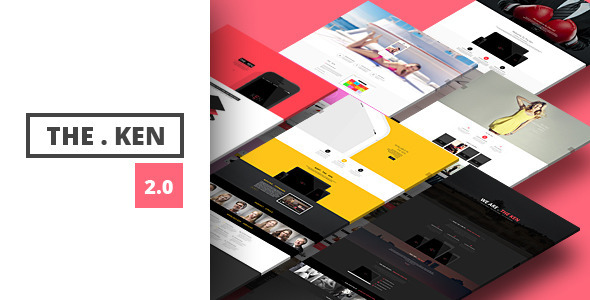 the ken - creative simple wordpress theme