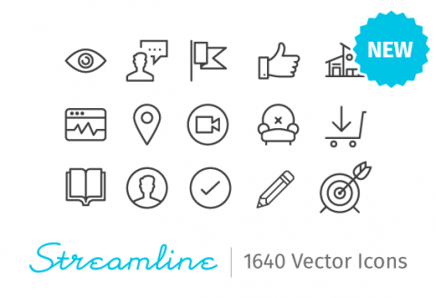 vector ios icons