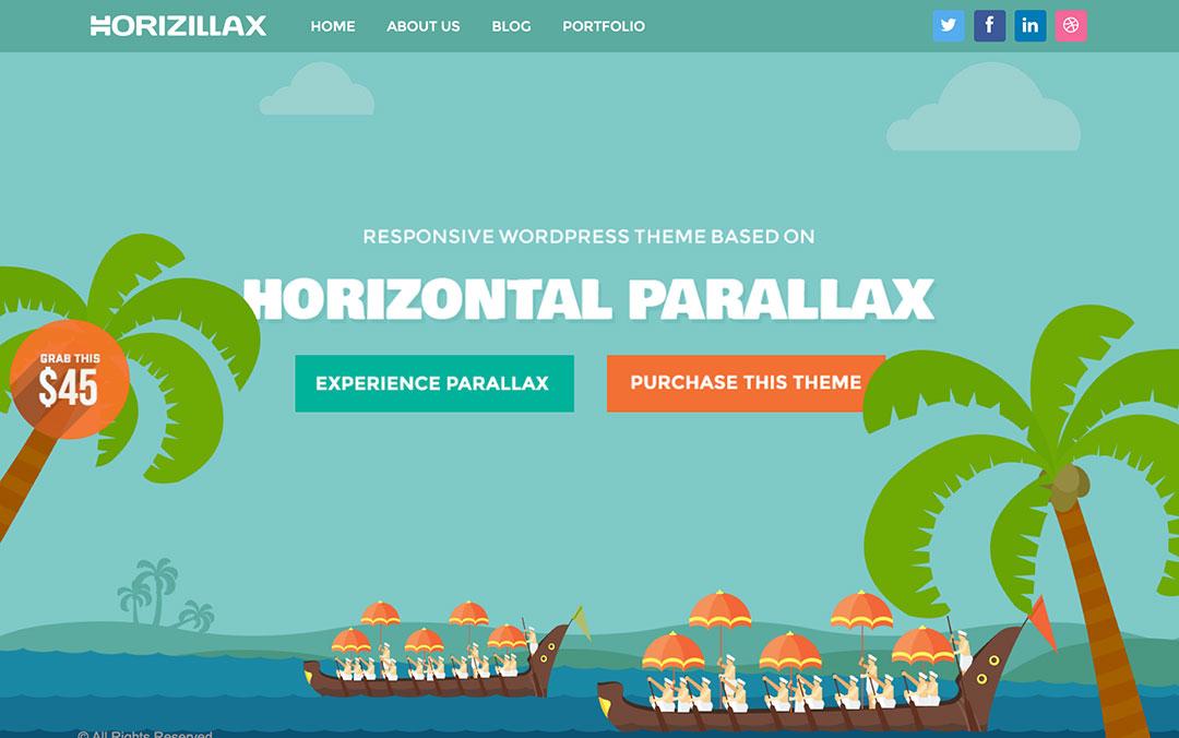horizontal parallax