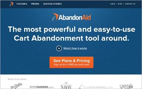 abandon for ecommerce