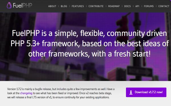 fuelphp framework