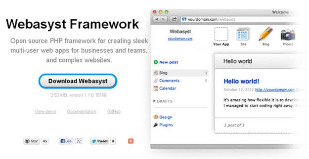 framework webasyst
